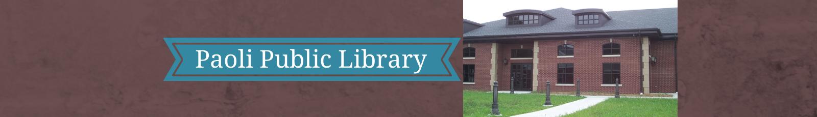 Paoli Public Library Header