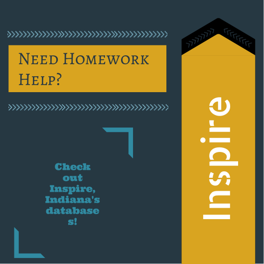 Do you need homework help? Check out Inspire databases!